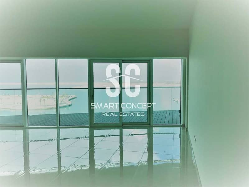 2 Stunning Unit with Sea View and Maid's Room
