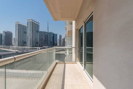 1 Bedroom Apartment for Rent in Business Bay, Dubai - Canal View | Unfurnished | Well maintained