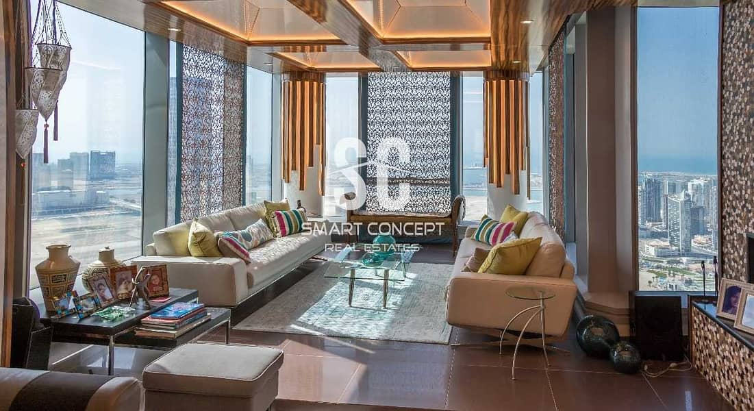 2 Furnished | Sky Pod | Maid's Room | Rent Refund