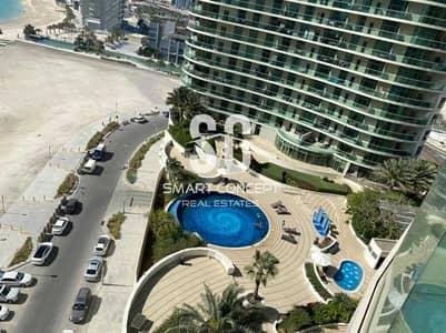 3 Bedroom Flat for Sale in Al Reem Island, Abu Dhabi - Luxury Deal | Classy Furniture | High Floor Beautiful View
