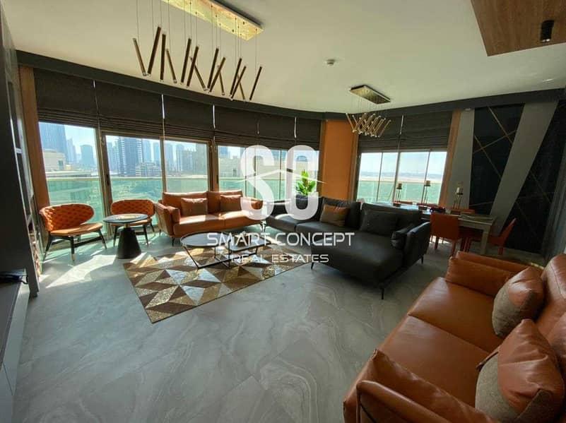 2 Luxury Deal | Classy Furniture | High Floor Beautiful View