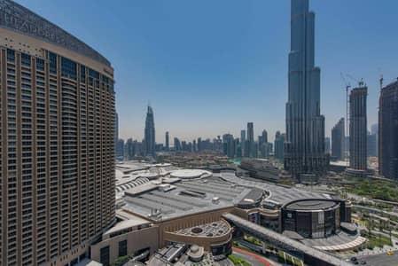 فلیٹ 1 غرفة نوم للايجار في وسط مدينة دبي، دبي - Burj Khalifa View | Bills Inclusive | Spacious