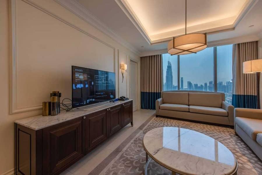 2 Burj Khalifa View | Bills Inclusive | Spacious