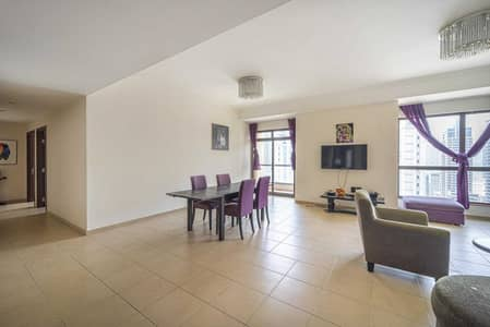 2 Bedroom Flat for Rent in Jumeirah Beach Residence (JBR), Dubai - Furnished | Marvelous Apt | Spacious | Balcony
