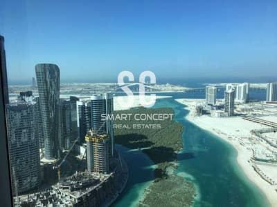 2 Bedroom Apartment for Sale in Al Reem Island, Abu Dhabi - Rent Refund   High Floor   2BR+Maid