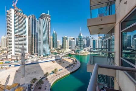 1 Bedroom Flat for Sale in Dubai Marina, Dubai - Full Marina View    Spacious   Balcony