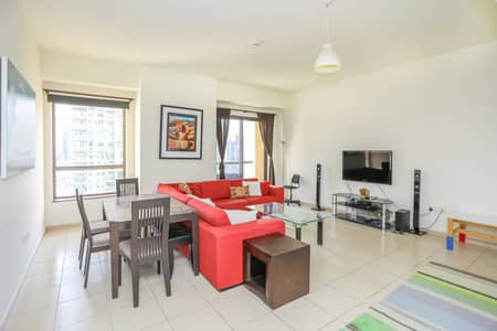 1 Bedroom Flat for Sale in Jumeirah Beach Residence (JBR), Dubai - Rented I Marina View I Spacious | Exlusive
