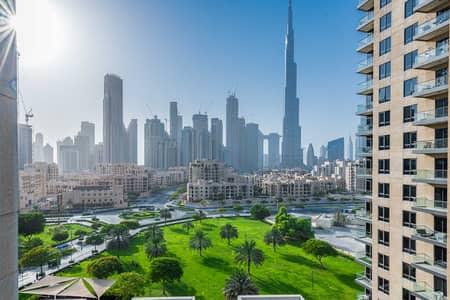 فلیٹ 2 غرفة نوم للايجار في وسط مدينة دبي، دبي - Spacious 2 bedroom | Direct Burj Khalifa view