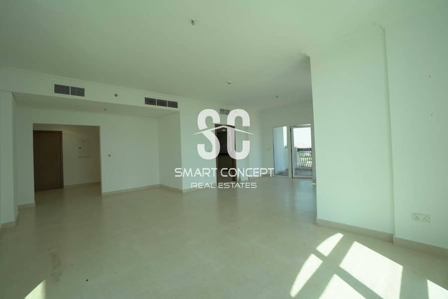2 Golf View   Huge Layout   3BR+Maid's Room