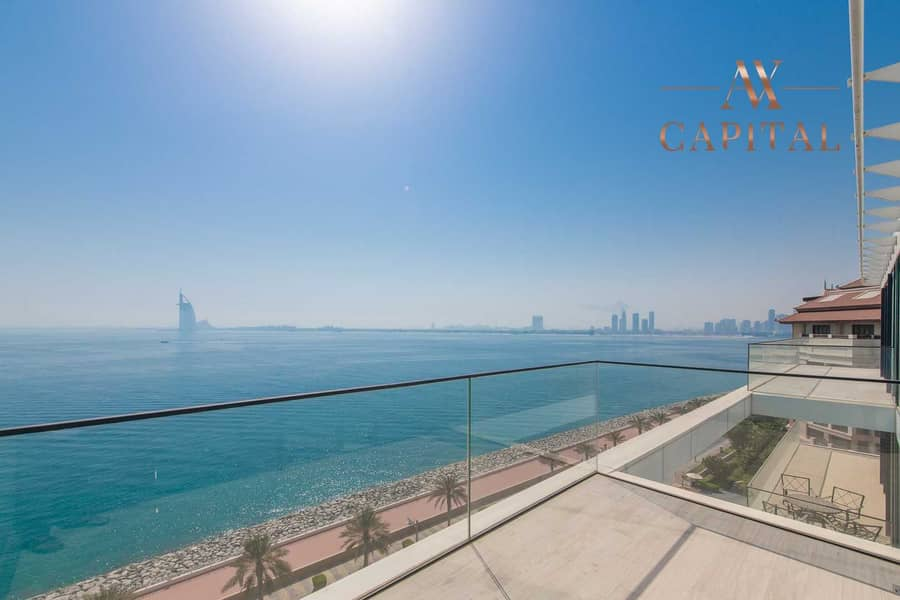 2 High-end   Resort Palm View   Unfurnished