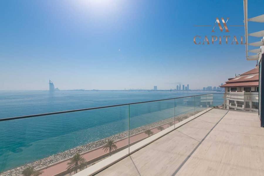 15 High-end   Resort Palm View   Unfurnished