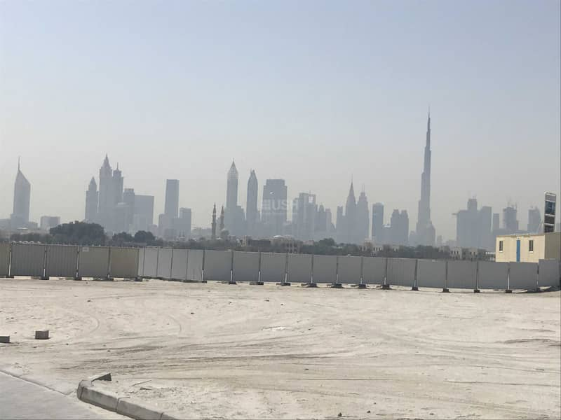 50 meters from the beach   burj khalifa and skyline view