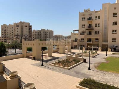 1 Bedroom Flat for Rent in Remraam, Dubai - Garden view   Well-maintained   Open kitchen