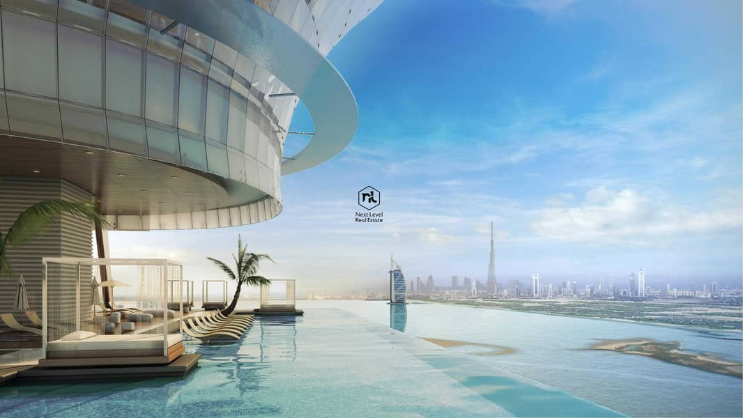    إطلالة فاخرة بشكل لا يصدق على أفق دبي   