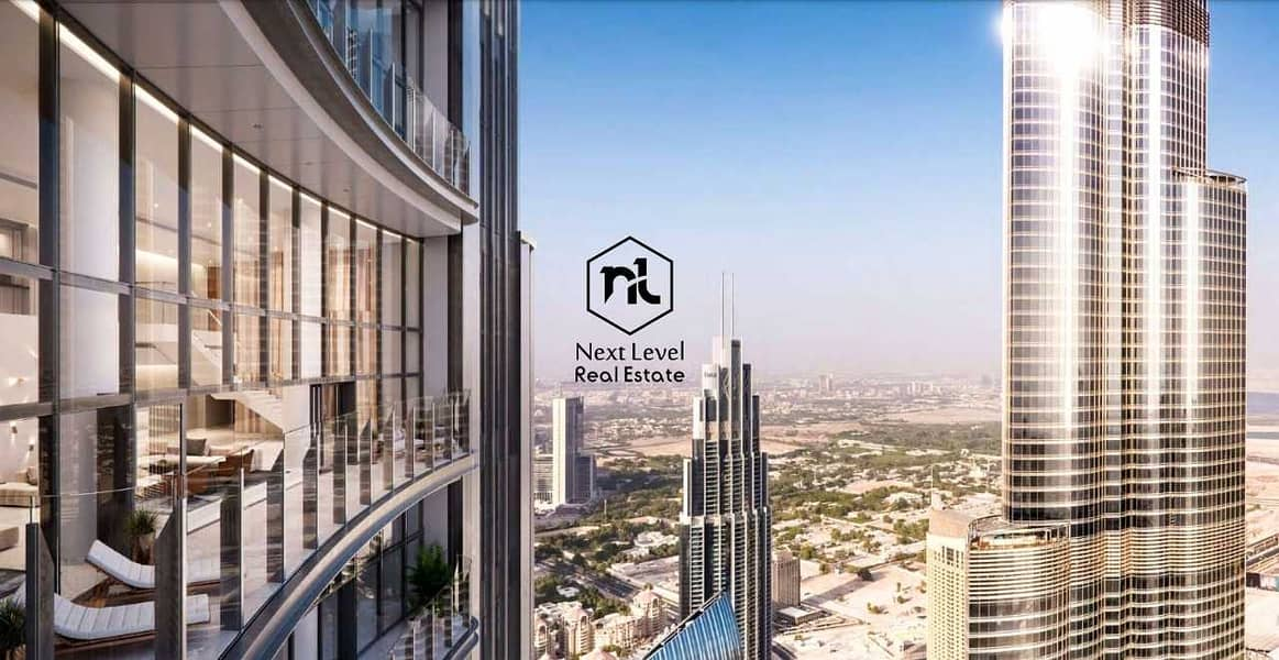Spectacular Full Floor Penthouse /  Luxurious and Unique view from Burj Khalifa