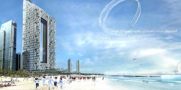 شقة فندقية 2 غرفة نوم للبيع في جميرا بيتش ريزيدنس، دبي - Full sea view 2 beds at higher floor for sales