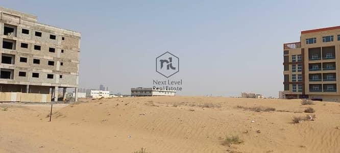 Plot for Sale in Al Jurf, Ajman - plot for sale 749 sqm  ground +six approval