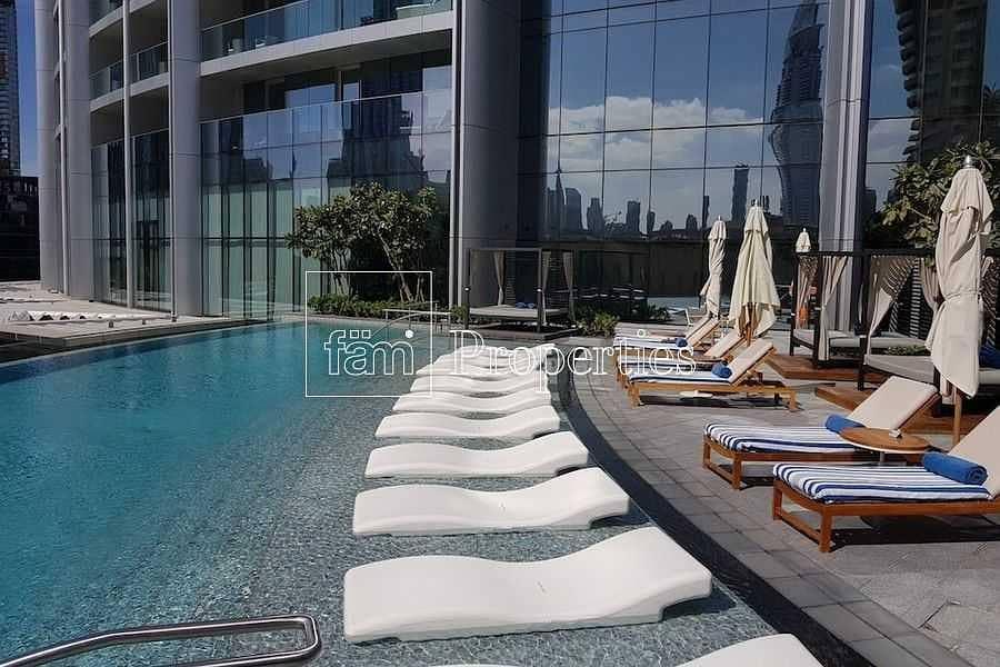 20 High floor| Naturally lit serviced apt| Good views