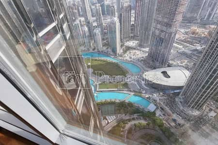 2 Bedroom Apartment for Rent in Downtown Dubai, Dubai - Move in Today/High floor spacious Unit