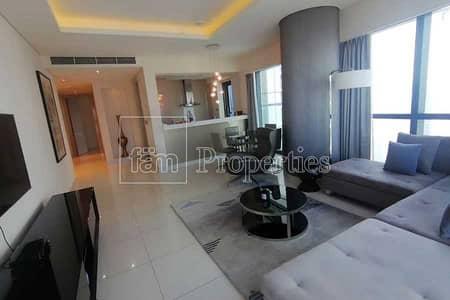شقة 2 غرفة نوم للايجار في الخليج التجاري، دبي - Fully furnished apartment | 5 cheques