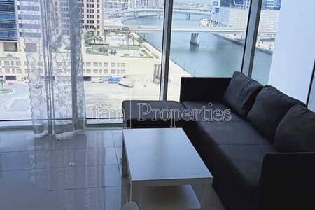 شقة 1 غرفة نوم للبيع في الخليج التجاري، دبي - Fully Furnished | Canal View | Best Price