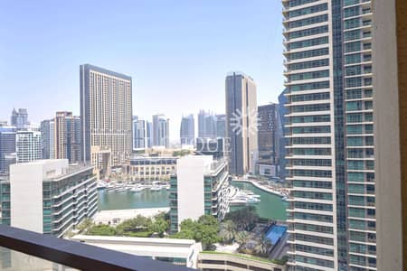 1 Bedroom Apartment for Sale in Jumeirah Beach Residence (JBR), Dubai - Fully Furnished   Community & Marina View   Vacant