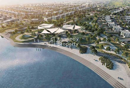 Plot for Sale in Yas Island, Abu Dhabi - Rare Plot | Up to 9 Beds | Canal Location