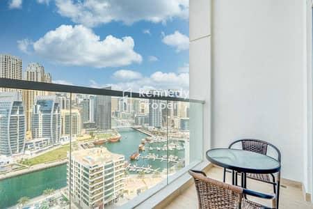 Studio for Sale in Dubai Marina, Dubai - Full Marina View   Prime Location  Fully Furnished