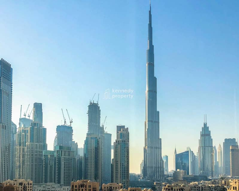 Spacious Layout   Canal and Partial Burj View   Vacant