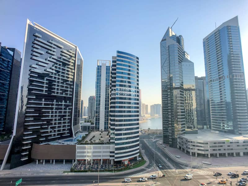 13 Spacious Layout   Canal and Partial Burj View   Vacant