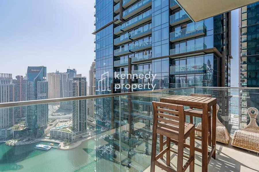 17 Spectacular View I Spacious Balcony I Unfurnished