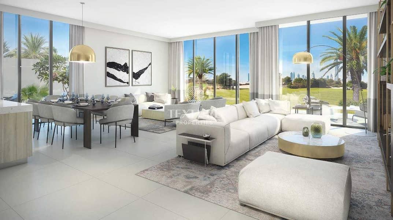 Genuine Resale | Facing Golf Course | Single Row | 4 Bedroom Villa