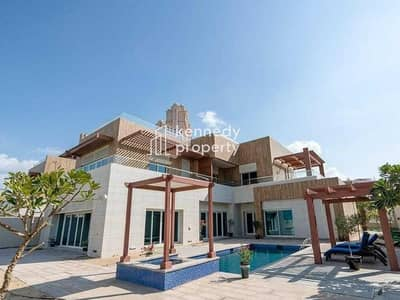 7 Bedroom Villa for Sale in The Marina, Abu Dhabi - Vacant and Ready | Huge Garden And Pool |Detached