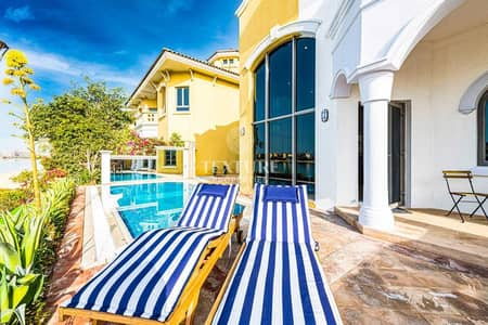 فیلا 5 غرف نوم للايجار في نخلة جميرا، دبي - Luxury | High End 5 Bed Villa | Private Beach Access