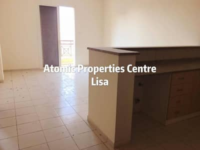 Hurry up!Vacantand bright 1BHK with balcony for sale in Greece cluster International City