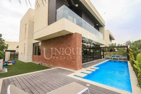 5 Bedroom Villa for Sale in DAMAC Hills (Akoya by DAMAC), Dubai - Exclusive Paramount Villa   Furnished  Golf Front