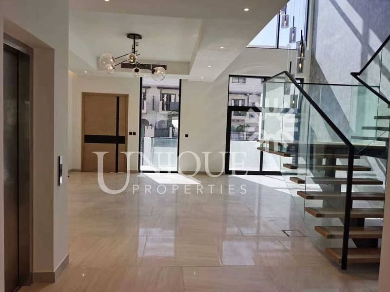 2 Luxury Brand New 4BR+Maid Townhouse with Elevator