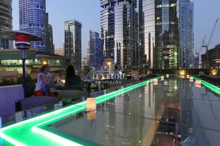 شقة فندقية 2 غرفة نوم للايجار في أبراج بحيرات الجميرا، دبي - Exclusive | High Floor | Stunning View Hotel Apartment