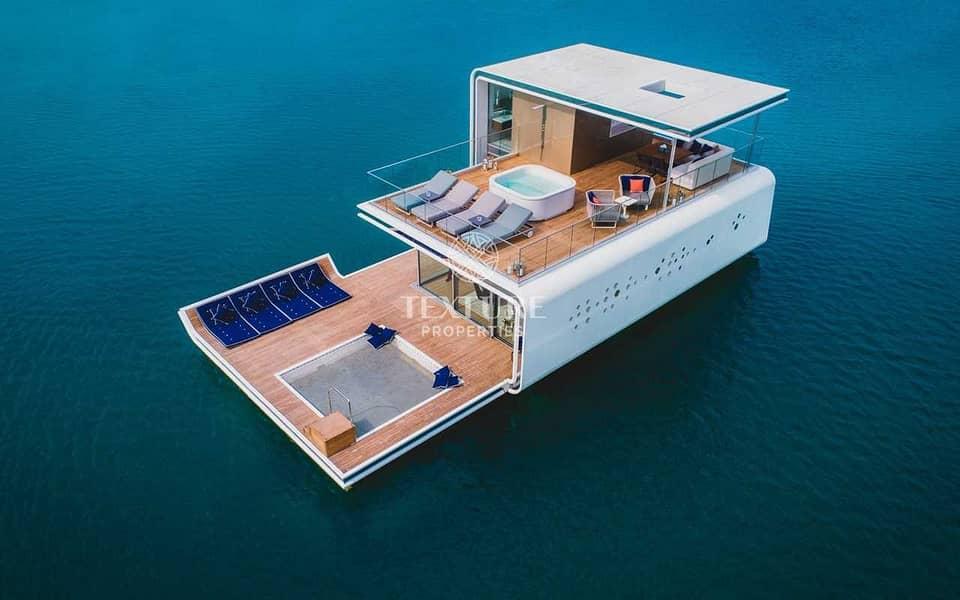 100% Guaranteed ROI in 10 Yrs   Floating SeaHorse Villas
