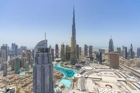 بنتهاوس 3 غرف نوم للايجار في وسط مدينة دبي، دبي - Rare Duplex Terrace Apts | Burj and Fountain Views