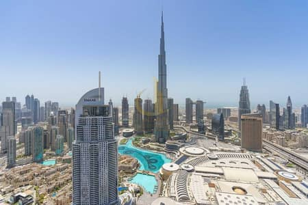 بنتهاوس 3 غرف نوم للبيع في وسط مدينة دبي، دبي - Rare Duplex Terrace Apts   Burj and Fountain Views