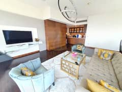 Full Fountain View | Furnished 2BR+M | On Higher Floor