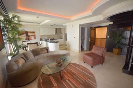بنتهاوس 1 غرفة نوم للايجار في جميرا بيتش ريزيدنس، دبي - Full Marina Views | Upgraded Fully Furnished 1BR Penthouse
