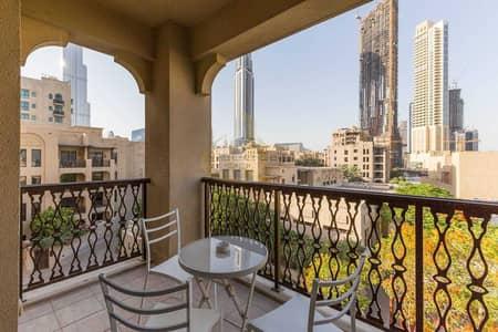 شقة 2 غرفة نوم للبيع في المدينة القديمة، دبي - Fully Furnished   Vacating Soon  Burj Khalifa View