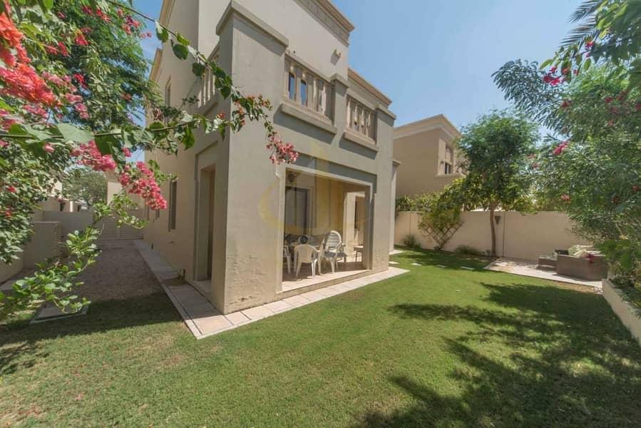 2 Single Row Villa | 3 BR+M | Casa Arabian Ranches