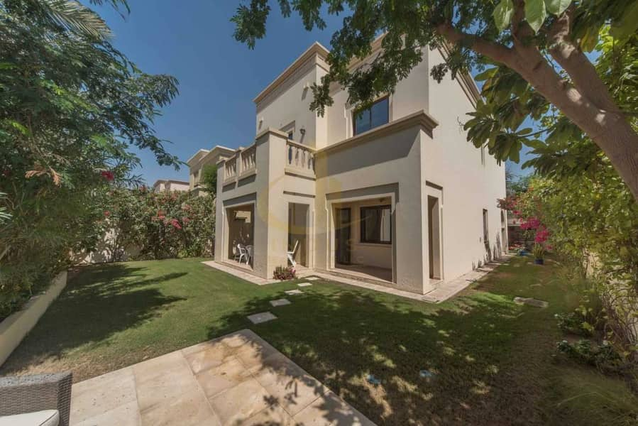 Single Row Villa | 3 BR+M | Casa Arabian Ranches