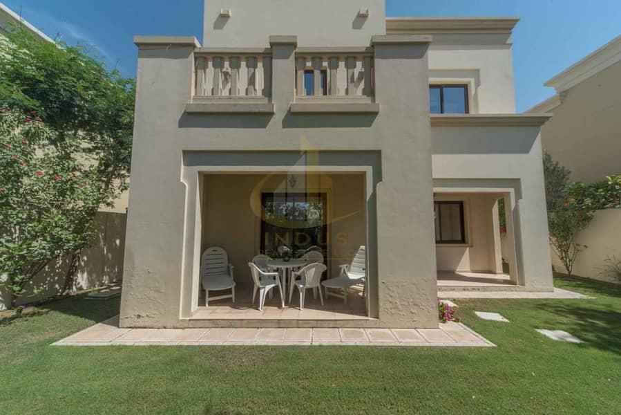 36 Single Row Villa | 3 BR+M | Casa Arabian Ranches