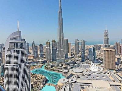 شقة 3 غرف نوم للبيع في وسط مدينة دبي، دبي - Tremendus 3Beds|Full Burj/Fountain View|The Highest Floor