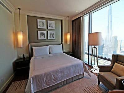 3 Bedroom Apartment for Sale in Downtown Dubai, Dubai - Tremendus 3Beds Full Burj/Fountain View The Highest Floor