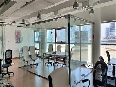مکتب  للبيع في الخليج التجاري، دبي - One great  fittrd /  paritioned /